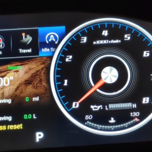 Android Speedometer For Land_Criuser V8 (2010 To 2018)