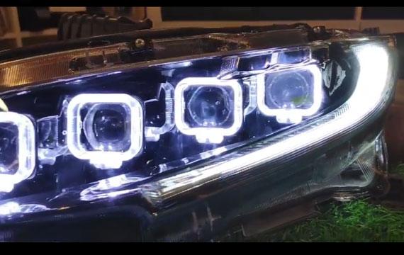 Bugatti Chiron Style Headlights For Honda Civic (2014-2019)